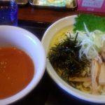 福吉さん『冷やしトマトつけ麺』と『飛魚(あご)つけめん』