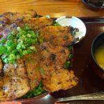 秩父豚みそ丼『野さか』と群馬県上野村『上野スカイブリッジ』